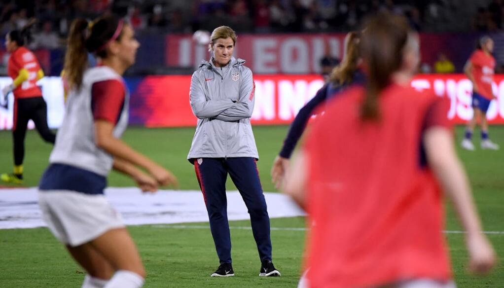明升体育报道:美国女足国家队队长埃利斯眼中的女子足球世界杯