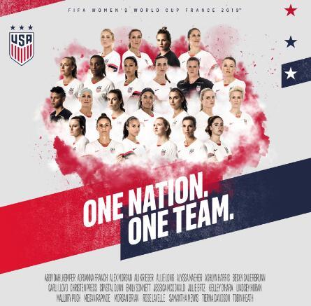 博狗报道美国女足世界杯球队名单公布