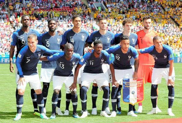 欧洲杯2020法国队