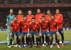 欧洲杯2020西班牙队