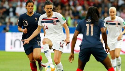 法国和挪威将在2019年世界杯相遇,争夺A组第一名