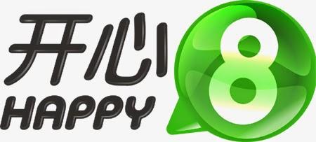 开心8 logo