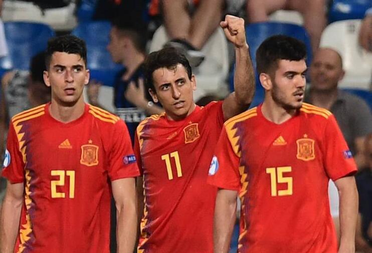 欧洲杯西班牙战胜法国队,小组出线