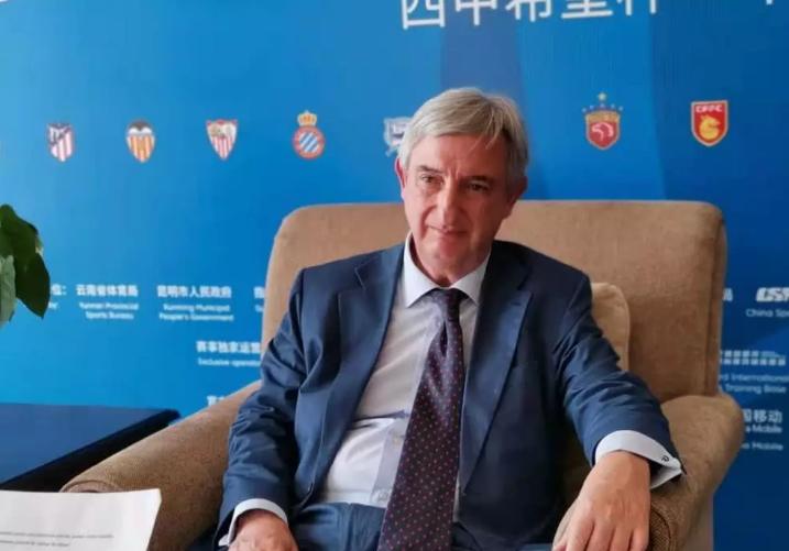 采访西班牙驻华大使:吴磊为世界杯球员树立了榜样