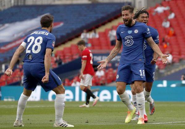 切尔西终结曼联19连胜,打进足总杯决赛