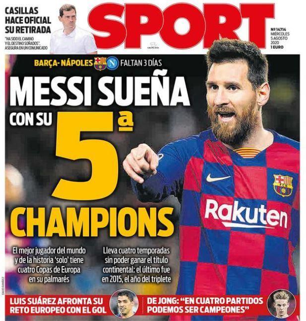 梅西的第5个欧冠梦能实现吗?