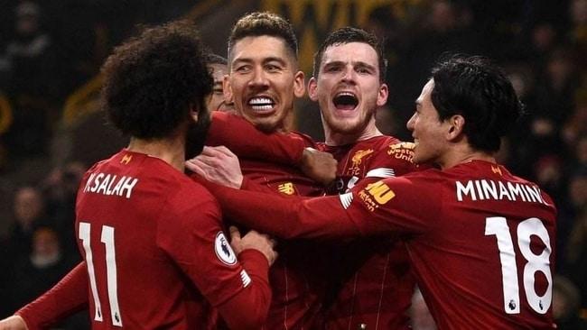 利物浦vs曼联 英超联赛2021