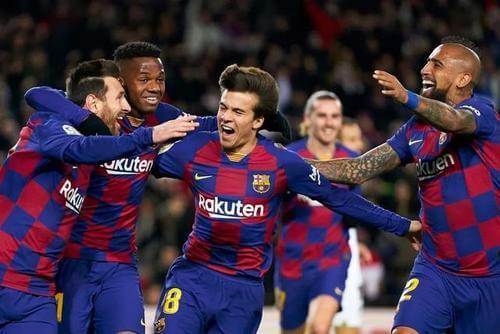巴塞罗那西甲联赛2021