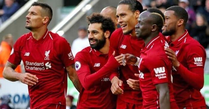 利物浦vs伯恩利 英超联赛2021