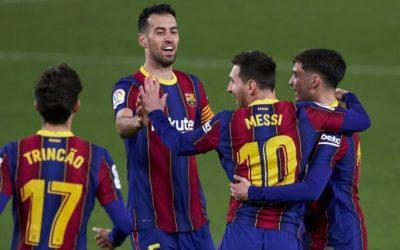 巴塞罗那vs巴黎圣日耳曼 欧冠联赛2021