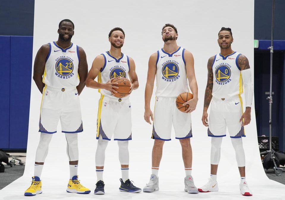 金州勇士vs布鲁克林篮网 NBA联赛2021