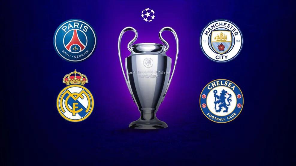 欧冠联赛2020-2021半决赛前瞻