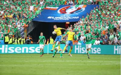 欧洲杯2021里的中国品牌