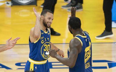 金州勇士vs新奥尔良鹈鹕 NBA联赛2021