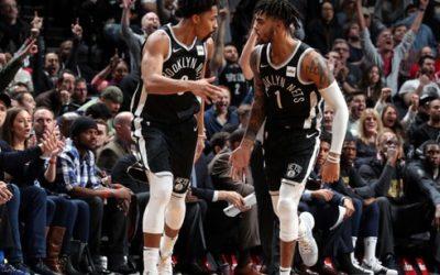 布鲁克林篮网vs圣安东尼奥马刺 NBA联赛2021