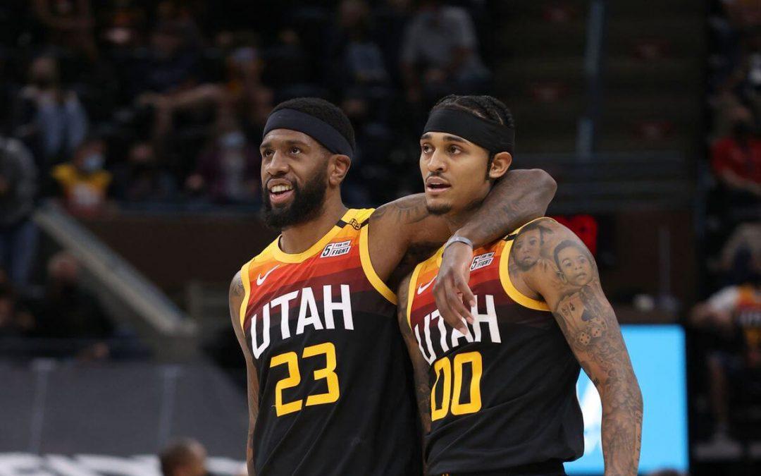 犹他爵士vs孟菲斯灰熊 NBA联赛2021