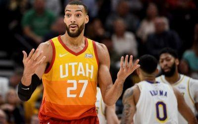 犹他爵士vs丹佛掘金 NBA联赛2021