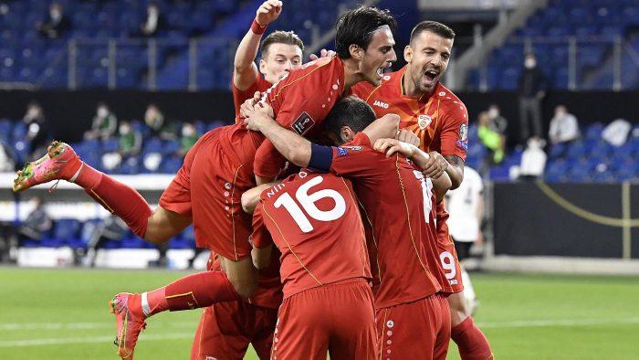 North Macedonia wining