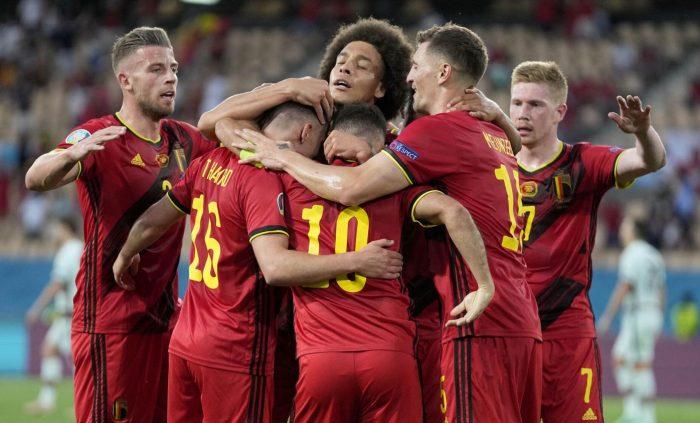 belgium team in euro2021
