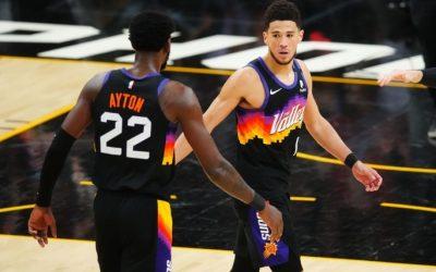 菲尼克斯太阳vs洛杉矶快船 NBA联赛2021