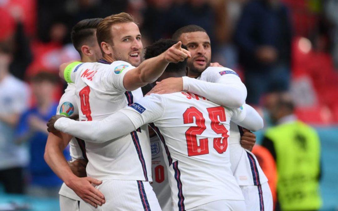 英格兰vs德国 欧洲杯2021