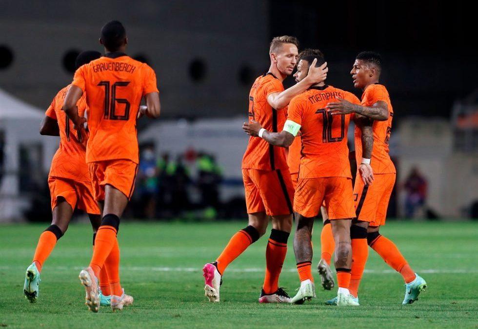 北马其顿vs荷兰王国 欧洲杯2021