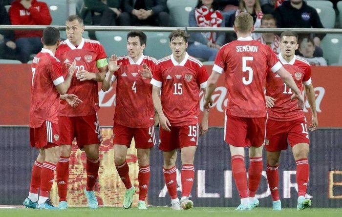 russia team in euro