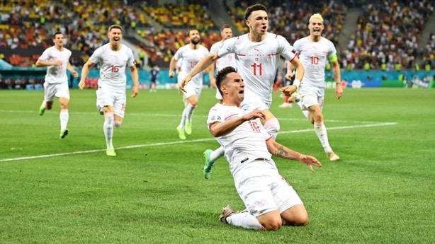 瑞士vs西班牙 欧洲杯2021