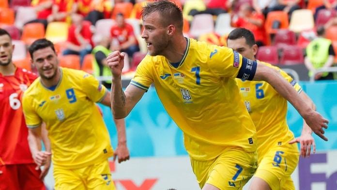 ukraine wins north macedonia