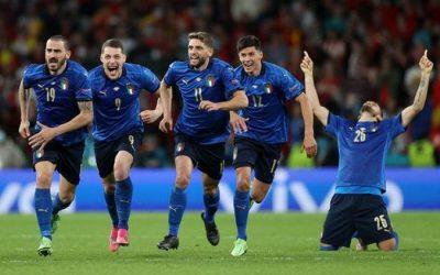 意大利点球击败西班牙挺进欧洲杯决赛