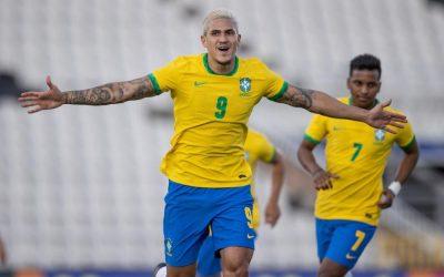 巴西vs埃及 东京奥运会男足赛2021