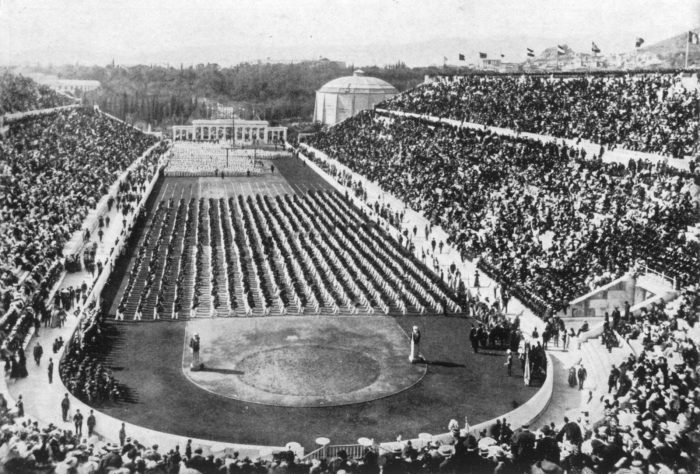 first olympic