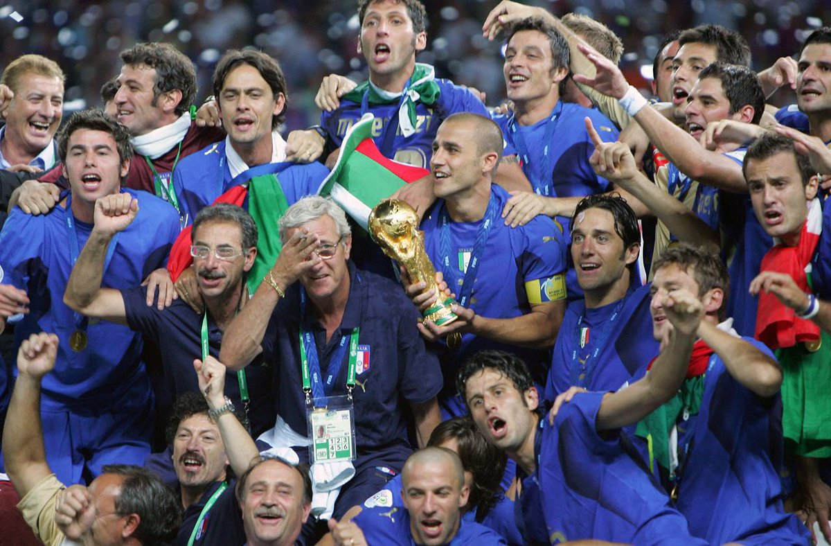 italy won 2006 world cup