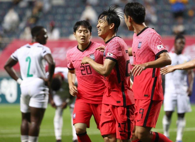 korea team in olympic