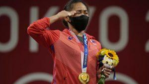 diaz gold medal