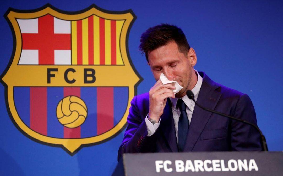 梅西告别巴塞罗那,加盟巴黎圣日耳曼