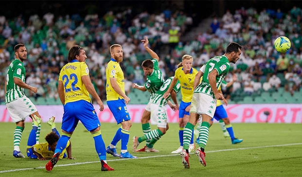 real betis and cadiz second draw