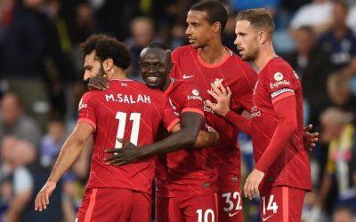 利物浦vs AC米兰 欧冠联赛2021