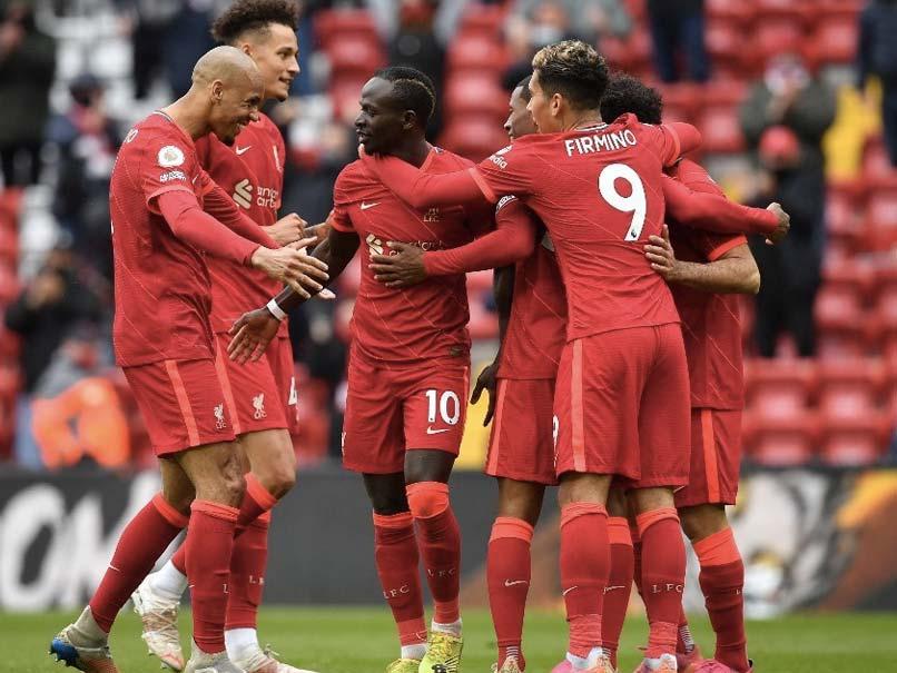 利物浦vs水晶宫 英超联赛2021
